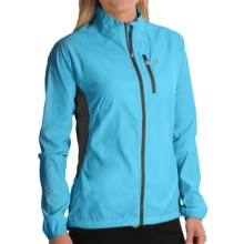 Avalanche Wear Weather Shield Wind Jacket - Lightweight (For Women) in Cyan Blue - Closeouts