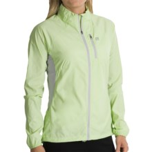 Avalanche Wear Weather Shield Wind Jacket - Lightweight (For Women) in Key Lime - Closeouts