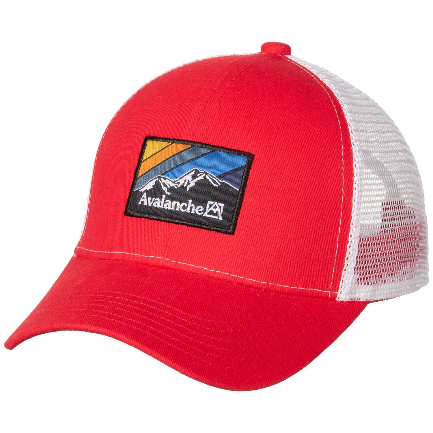 0a3212cc1 Avalanche Woven Label Patch Trucker Hat (For Men)