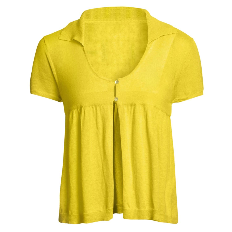 Short Sleeve Cardigan Sweaters 8