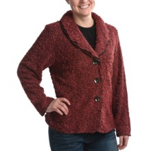 Avalin Melange Novelty Shawl Jacket (For Women) in Clay - Closeouts