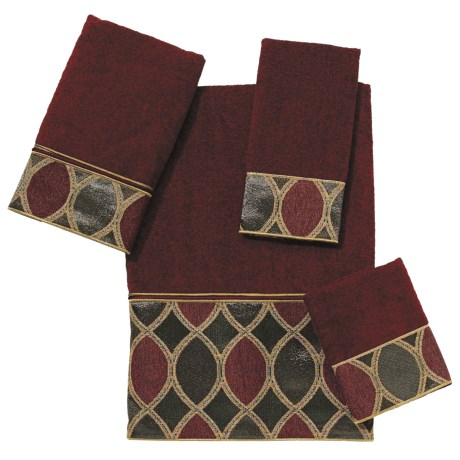 Avanti Linens Eclipse Towel Set - 4-Piece in Brick