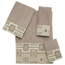 Avanti Linens Horizon Towel Set - 4-Piece in Putty - Closeouts