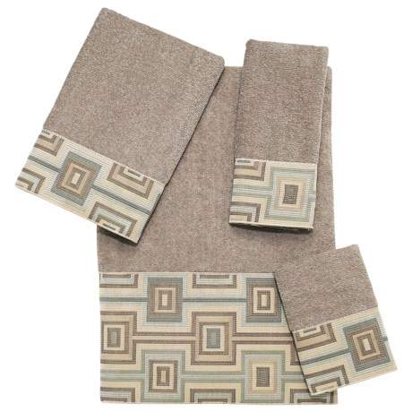 Avanti Linens Horizon Towel Set - 4-Piece in Putty