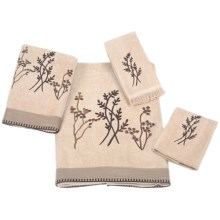Avanti Linens Laguna Towel Set - 4 Piece in Linen - Closeouts