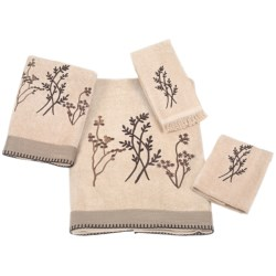 Avanti Linens Laguna Towel Set - 4 Piece in Linen