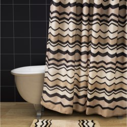 Avanti Linens Lauren Collection Shower Curtain in Multi