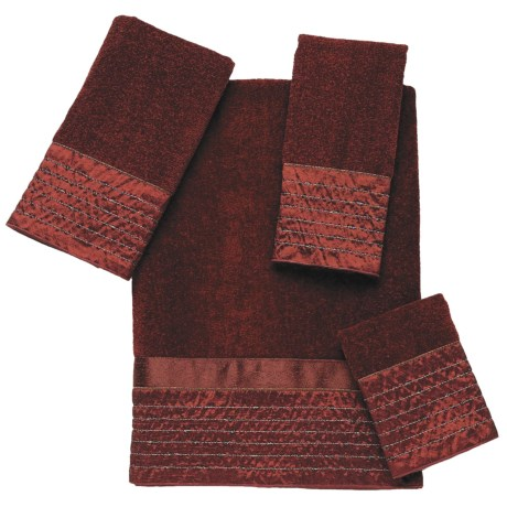 Avanti Linens Lexington Towel Set - 4-Piece in Brick