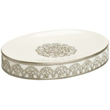Avanti Linens Patria Soap Dish - Bathroom Collection in Beige - Closeouts