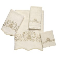 Avanti Linens Premier Venetian Scroll Towel Set - 4-Piece in Ivory - Closeouts
