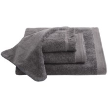 Avanti Linens Velour Hand Towel in Granite - Closeouts