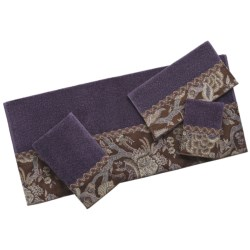 Avanti Linens Velour Towel Set - 4-Piece in Wellesly