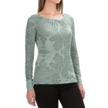 Aventura Clothing Aberdeen Shirt - Long Sleeve (For Women) in Blue Spruce - Closeouts