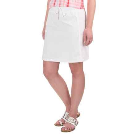 Aventura Clothing Ada Skirt - Organic Cotton (For Women) in White - Closeouts