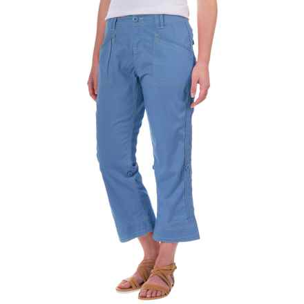 Aventura Clothing Addie Capris - Organic Cotton (For Women) in Blue Yonder - Closeouts