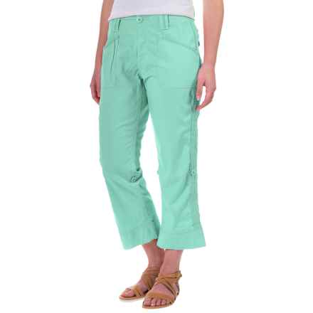 Aventura Clothing Addie Capris - Organic Cotton (For Women) in Holiday - Closeouts