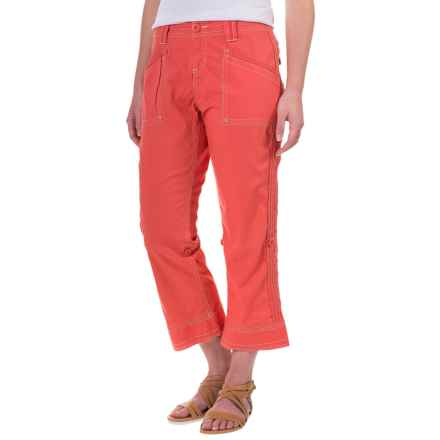 Aventura Clothing Addie Capris - Organic Cotton (For Women) in Spiced Coral - Closeouts