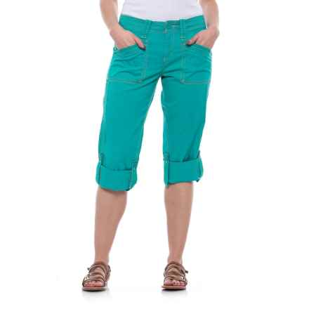 Aventura Clothing Addie Capris - Organic Cotton (For Women) in Viridian Green - Closeouts