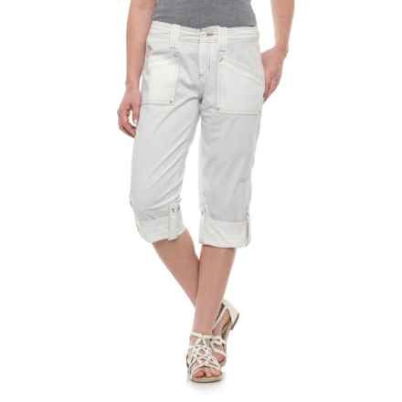 Aventura Clothing Addie Capris - Organic Cotton (For Women) in White - Closeouts