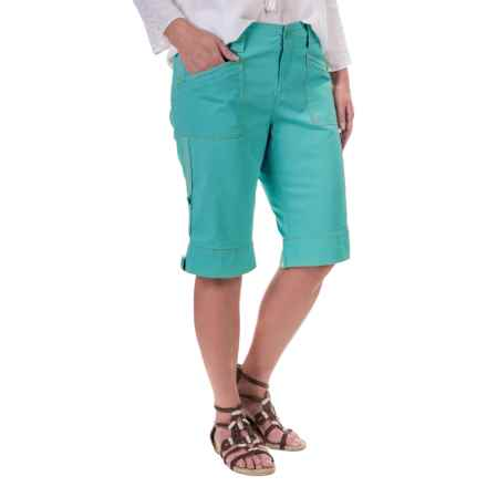 Aventura Clothing Addie Shorts - Organic Cotton (For Women) in Blue Turquoise - Closeouts