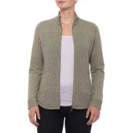 Aventura Clothing Afton Jacket - Insulated, Organic Cotton (For Women) in Gravel - Closeouts