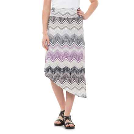 Aventura Clothing Alexus Asymmetrical Skirt (For Women) in Black - Closeouts