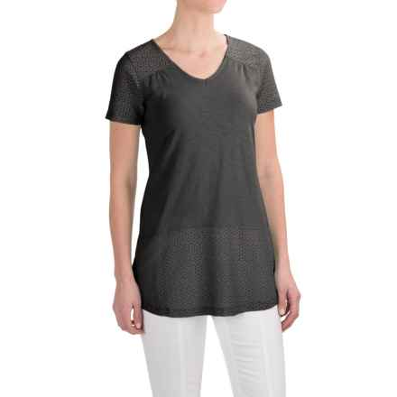 Aventura Clothing Allura Shirt - Organic Cotton-Modal, Short Sleeve (For Women) in Black - Closeouts