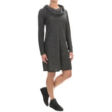 Aventura Clothing Amaris Cowl Neck Dress - Long Sleeve (For Women) in Heathered Grey - Closeouts