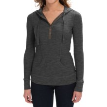 Aventura Clothing Amelia Hoodie (For Women) in Black - Closeouts