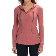 Aventura Clothing Amelia Hoodie (For Women) in Dusty Cedar - Closeouts