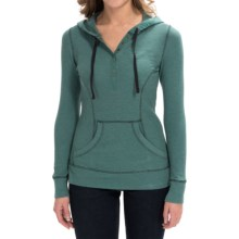 Aventura Clothing Amelia Hoodie (For Women) in North Sea - Closeouts
