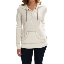Aventura Clothing Amelia Hoodie (For Women) in Whisper White - Closeouts