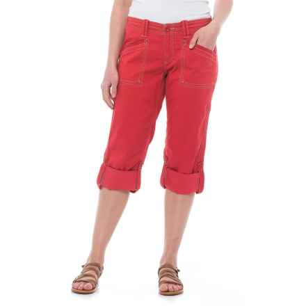 Aventura Clothing Arden Capris - Organic Cotton (For Women) in Cardinal - Closeouts