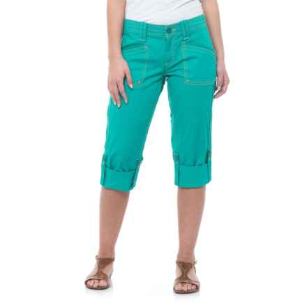 Aventura Clothing Arden Capris - Organic Cotton (For Women) in Viridian Green - Closeouts