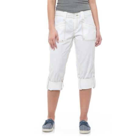 Aventura Clothing Arden Capris - Organic Cotton (For Women) in White