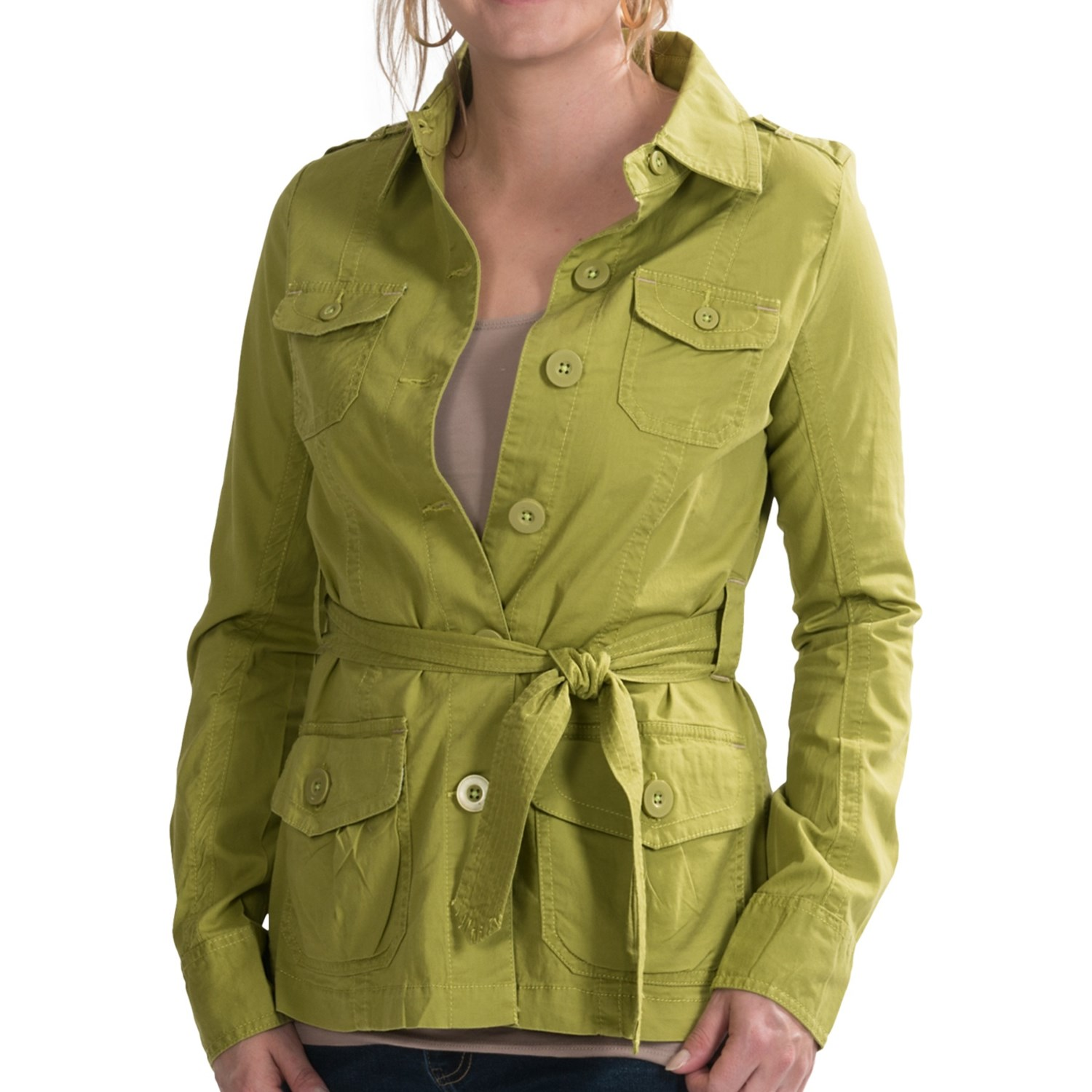Aventura Clothing Arden Jacket - Organic Cotton (For Women) in Oasis