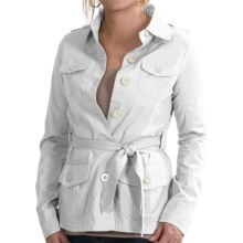 Aventura Clothing Arden Jacket - Organic Cotton (For Women) in White - Closeouts