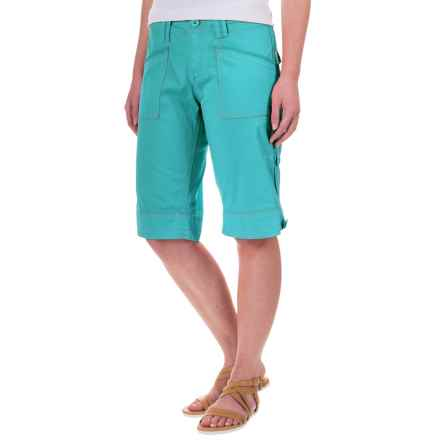 Aventura Clothing Arden Shorts - Organic Cotton (For Women) in Blue Turquoise - Closeouts