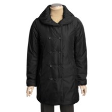 Aventura Clothing Arlington Coat - A-Line Cut, Insulated (For Women) in Black - Closeouts