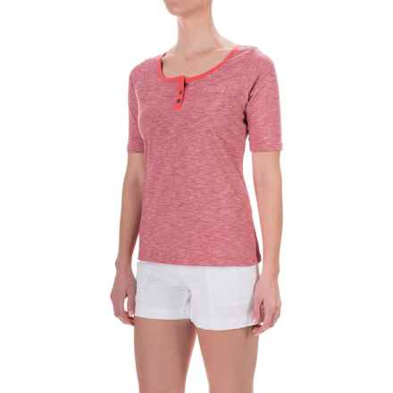 Aventura Clothing Artisan Shirt - Organic Cotton, Short Sleeve (For Women) in Chipotle - Closeouts