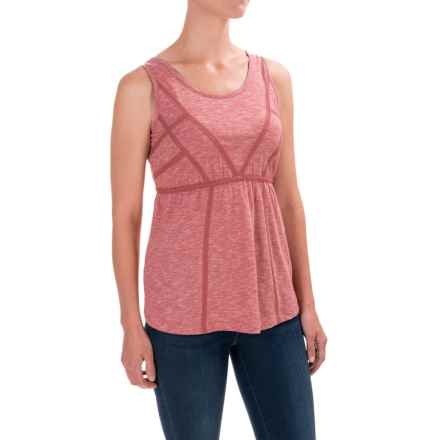 Aventura Clothing Artisan Tank Top - Scoop Neck, Organic Cotton (For Women) in Chipotle - Closeouts