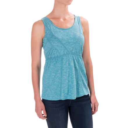 Aventura Clothing Artisan Tank Top - Scoop Neck, Organic Cotton (For Women) in Mosaic Blue - Closeouts