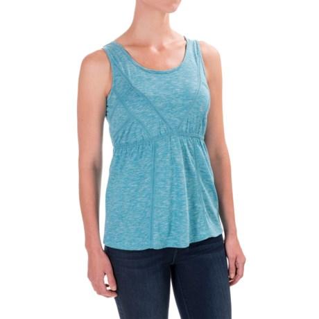 Aventura Clothing Artisan Tank Top - Scoop Neck, Organic Cotton (For Women) in Mosaic Blue