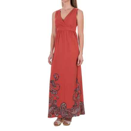Aventura Clothing Ashby Maxi Dress - Sleeveless (For Women) in Chipotle - Closeouts