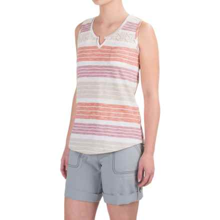 Aventura Clothing Atherton Tank Top - Organic Cotton (For Women) in Deco Rose - Closeouts