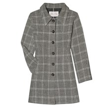 Aventura Clothing Ava Plaid Coat - Wool Blend (For Women) in Charcoal Plaid - Closeouts