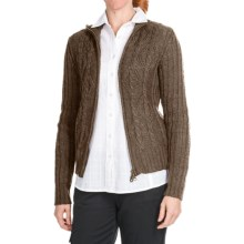 Aventura Clothing Avalon Cardigan Sweater - Full Zip (For Women) in Capers - Closeouts