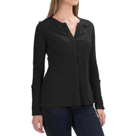 Aventura Clothing Avila Shirt - Organic Cotton, Long Sleeve (For Women) in Black - Closeouts