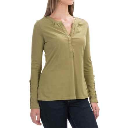 Aventura Clothing Avila Shirt - Organic Cotton, Long Sleeve (For Women) in Mosstone - Closeouts