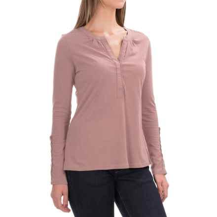 Aventura Clothing Avila Shirt - Organic Cotton, Long Sleeve (For Women) in Petal - Closeouts